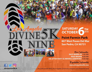 Divine Nine 5K, Los Angeles