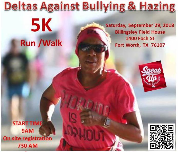 Deltas Against Bullying & Hazing 5K Run