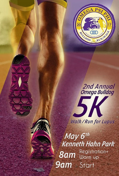 Omega Psi Phi - Bulldog 5k Run/Walk to Fight Lupus