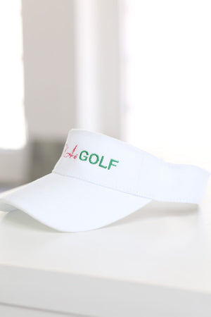 AKAs Golf visor, white