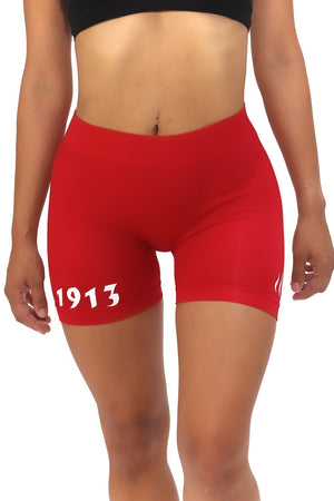 1913 FitTight™ shorts, red/white