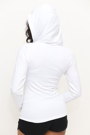 FIT Delta Warm-Up track jacket, white