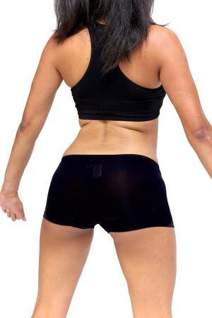 1922 FitTight™ mini shorts, black/blue/gold