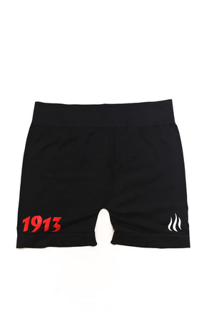 1913 FitTight™ shorts, black/red/white