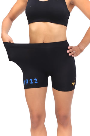 1922 FitTight™ shorts, black/blue/gold