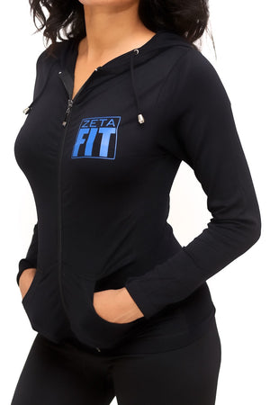 FIT Zeta Warm-Up track jacket, black