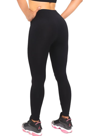 1908 FitTight™ tights, black/pink/green