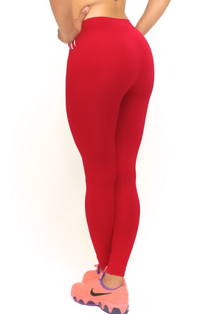 1913 FitTight™ tights, red/white