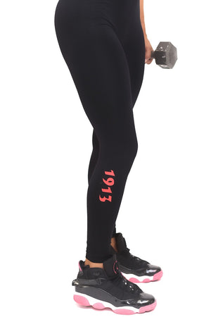 1913 FitTight™ tights, black/red/white