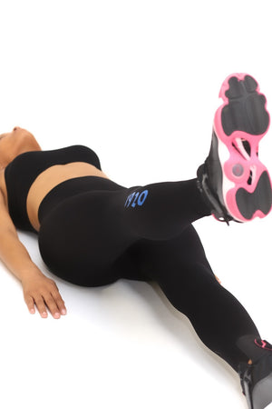 1920 FitTight™ tights, black/blue/white