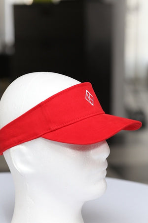 Diamond-K Klassic visor, red
