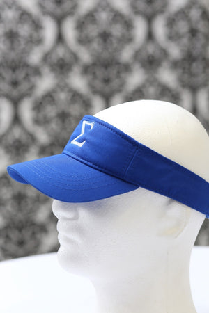 Σ visor, blue/white
