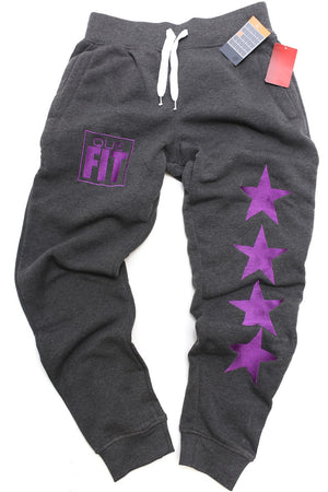 FIT Que Star joggers, charcoal