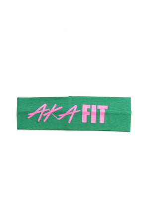 FIT AKA Bondi Band, green/pink