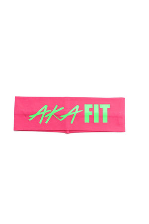 FIT AKA Bondi Band, pink/green