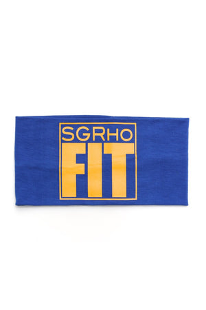 FIT SGRho Bondi Band extra-wide, blue/gold