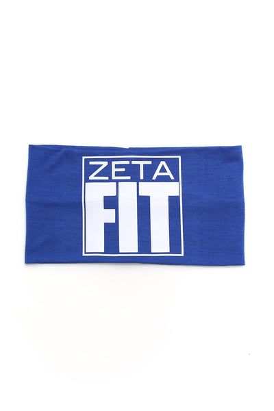FIT Zeta Bondi Band extra-wide, blue/white