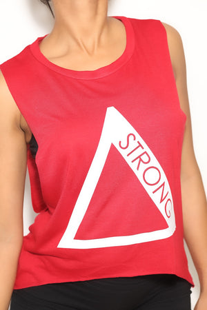 Strong Δ featherweight workout tank