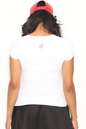 Fundamental Delta tee (v), white