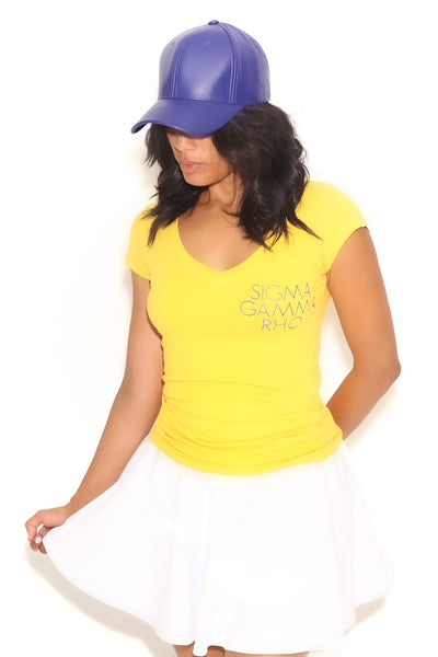 Fundamental SGRho tee (v), gold