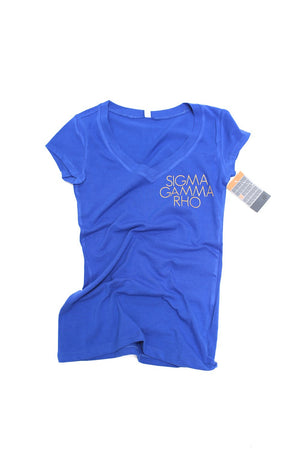 Fundamental SGRho tee (v), blue