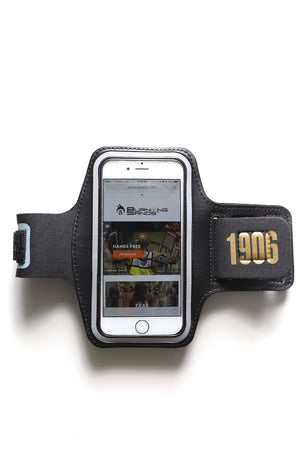 Road Tripper 1906 smartphone armband case, black