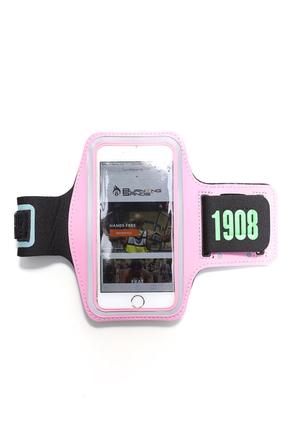 Road Tripper 1908 smartphone armband case, pink