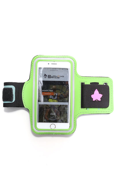 Road Tripper IVY smartphone armband case, green