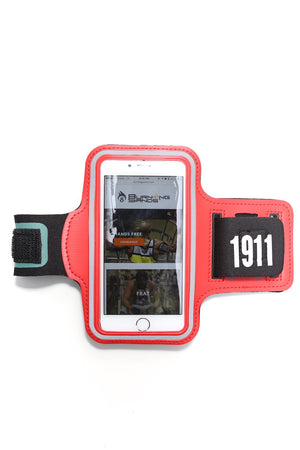 Road Tripper 1911 smartphone armband case, red