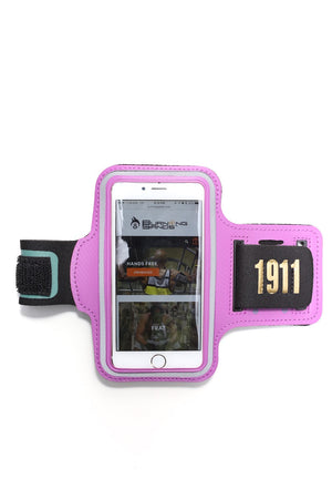 Road Tripper 1911 smartphone armband case, purple