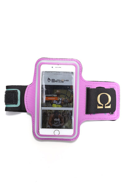 Road Tripper Ω smartphone armband case, purple