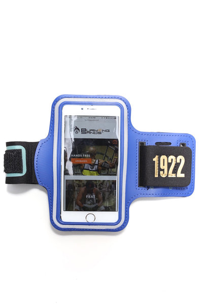 Road Tripper 1922 smartphone armband case, blue