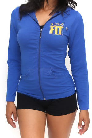 FIT SGRho Warm-Up track jacket, blue