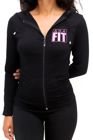 FIT AKA Warm-Up track jacket, black