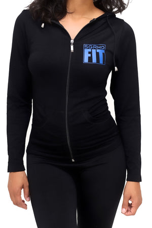 FIT SGRho Warm-Up track jacket, black