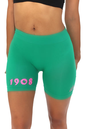 1908 FitTight™ shorts, green/pink