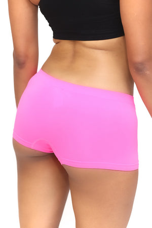1908 FitTight™ mini shorts, pink/green