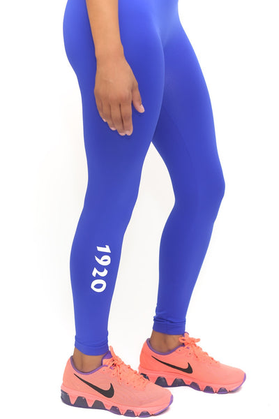 1920 FitTight™ tights, blue/white