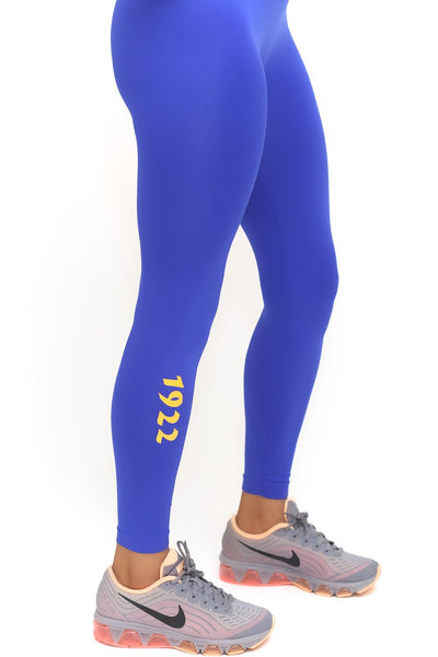 1922 FitTight™ tights, blue/gold