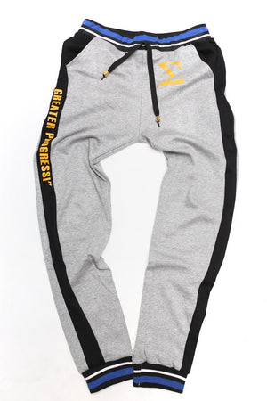 My Motto joggers, ...Greater Progress