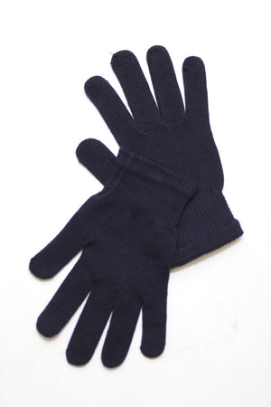 Toasty Fingers gloves, mens navy