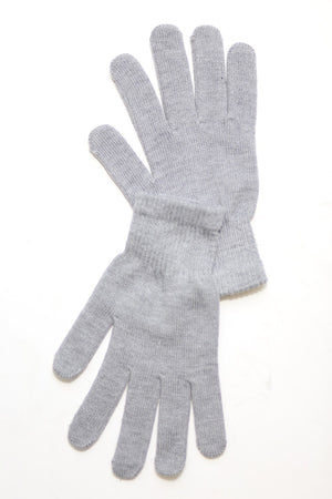 Toasty Fingers gloves, mens grey