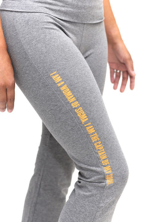Invictus Lady of Sigma yoga pants, grey