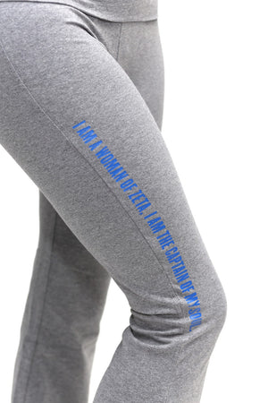 Invictus Lady of Zeta yoga pants, grey