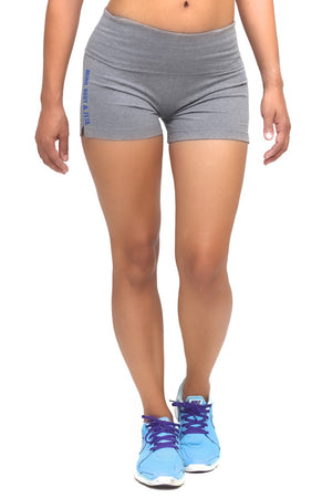 Mind, Body & Zeta yoga shorts, grey