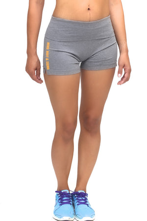 Mind, Body & Sigma yoga shorts, grey