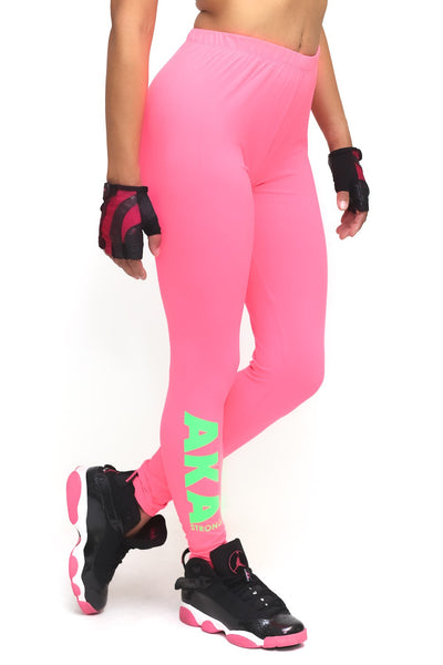 Power Club AKA Strong advanced leggings, pink