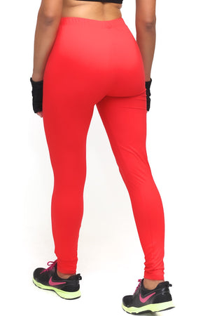 Power Club Delta Strong advanced leggings, red