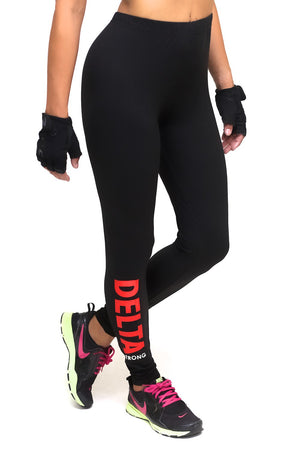 Power Club Delta Strong advanced leggings, black