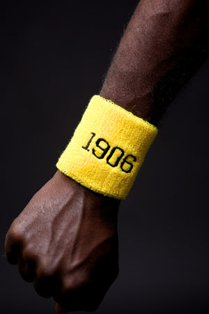 No Sweat wristband, 1906